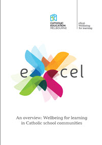 eXcel: Wellbeing for learning in Catholic school communities - A4 overview brochure (web)
