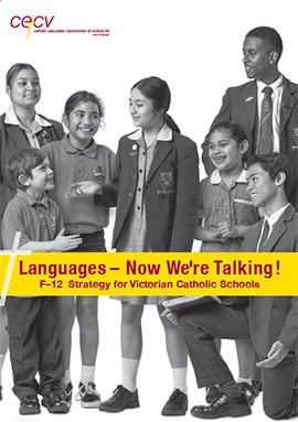 front cover image of the Language - Speak Up! brochure