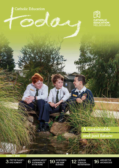Catholic Education Today Term 2 2018 Cover Image